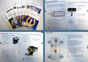 19x SSP 262 - 370 VW Konstruktion und Funktion Selbststudienprogramm