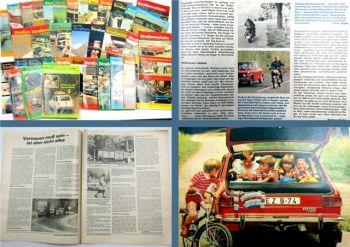 Der Deutsche Straßenverkehr 36 Zeitschriften 1980-1984