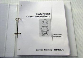 Opel Elektronische Dieselmanagementsysteme Motor Elektronik Schulung Training