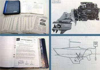 Volvo Penta Service Bulletin Servicemitteilung Technische Daten 1990-1998