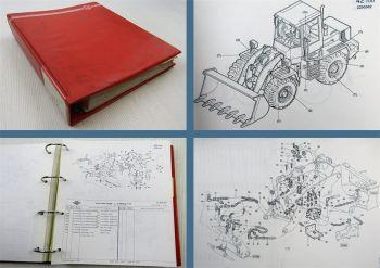 O&K L20 Ersatzteilliste Ersatzteilkatalog Parts List inkl. Motor 1995