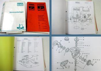 Steinbock Boss WR13-16 Stapler Ersatzteilkatalog Pieces de Rechange  parts list