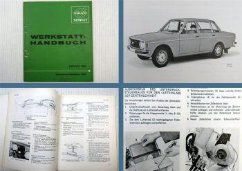 Werkstatthandbuch Volvo 140 Technische Neuheiten Wartung Schaltplan ab 1973