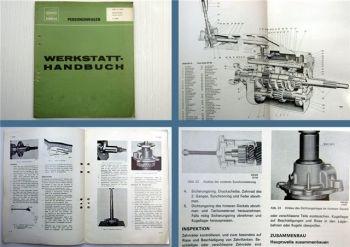 Werkstatthandbuch Volvo P 1800 Getriebe M 40 41 Reparaturanleitung 1965