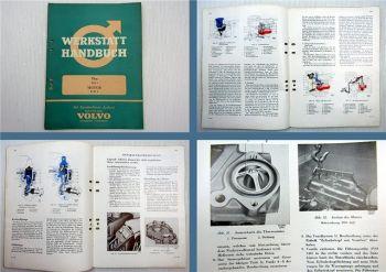 Reparaturanleitung Volvo P 1200 121 122 Amazon Motor B18A Werkstatthandbuch 1962