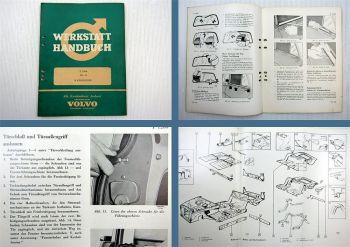Reparaturanleitung Volvo P 1200 Amazon Karosserie Werkstatthandbuch 1963