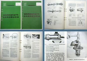 Reparatur Volvo 120 140 164 1800 Werkstatthandbuch Hinterachse Gelenkwell 1972