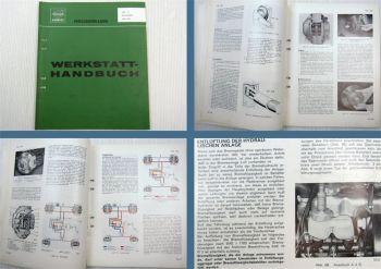 Volvo 140 142 144 145 164 Werkstatthandbuch Bremsen Fussbremse Handbremse 1972