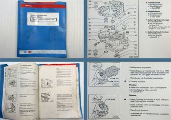 Werkstatthandbuch VW Passat B4 3A ab 1994 5-Gang Schalt Getriebe 02A CCM VR6 CHU
