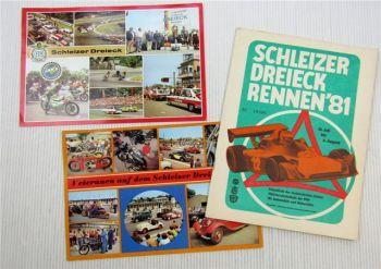 Programmheft Schleizer Dreieck Rennen 1981