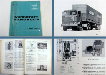 Volvo L4951 L4956 Lastwagen Werkstatthandbuch Wartung Reparatur 05/1965
