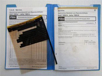 Reparaturleitfaden VW Golf 2 Automatikgetriebe 010 Reparaturanleitung