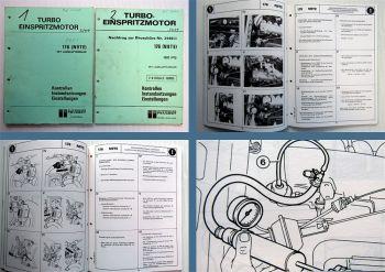 Werkstatthandbuch Peugeot 505 Turbo 176 N9TE Turbo Einspritzmotor 180 PS