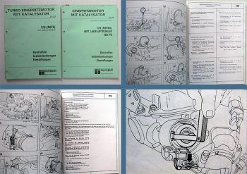 Werkstatthandbuch Peugeot 505 Turbo 176 N9TE / N9TEA 180 PS Ladeluftkühler