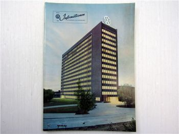 VW Informationen Nr. 44 / 1959 Werkszeitschrift Käfer Bus T1