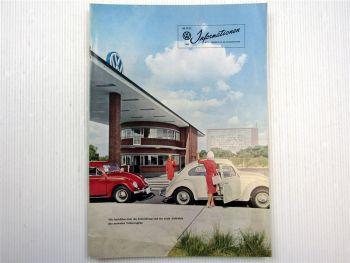 VW Informationen Nr. 52/53 1960 Werkszeitschrift Käfer Bus T1