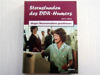 Sternstunden des DDR Humors 1971 1972 Wegen Warenannahme geschlossen Geburtstag