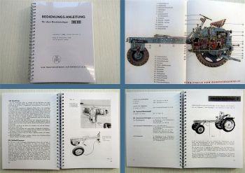 RS 09 Geräteträger Bedienungsanleitung 1963