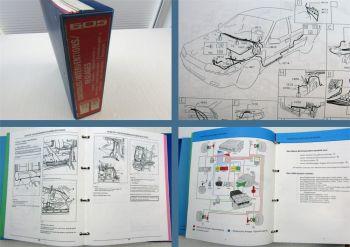 Werkstatthandbuch Peugeot 605 ASR2E Stromlaufpläne XU10J2L/Z Reparaturhandbuch