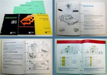 7x Peugeot alle Typen Handbuch ABS Bordcomputer Diebstahlwarnanlage