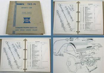 Triumph TR5 P.I. Sports Car Parts List Parts Catalogue Ersatzteilliste 1967/68