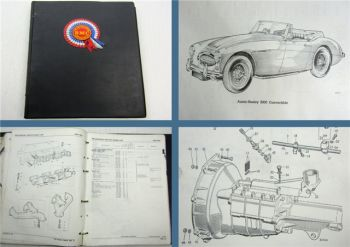 Austin Healey 3000 Series BJ7 BJ8 Parts List Parts Catalogue Ersatzteilliste