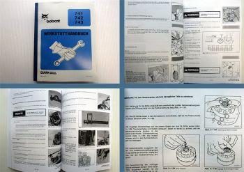 Bobcat 741 742 743 Werkstatthandbuch
