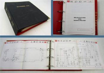 Citroen XM Typ Y3 Stromlaufpläne Elektrische Schaltpläne 1994 Band 2