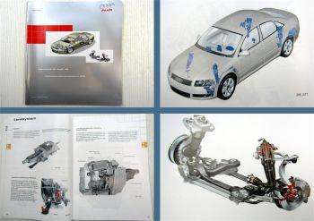 SSP 285 Audi A8 D3 Fahrwerk Konstruktion + Funktion 2002