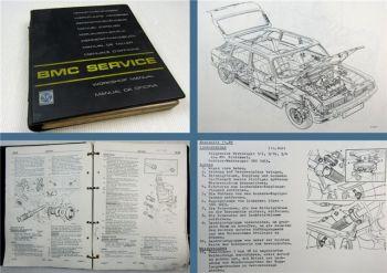 Austin Maxi + Maxi 2 Werkstatthandbuch Reparaturanleitung 1974 + Nachtrag 1980