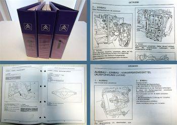 Werkstatthandbuch Citroen C8 Getriebe 4HP20 Bremse Lenkung Airbag Achse Kupplung