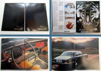 Jaguar XJ 4.2 XJ 5.3 2 Prospekte 1979