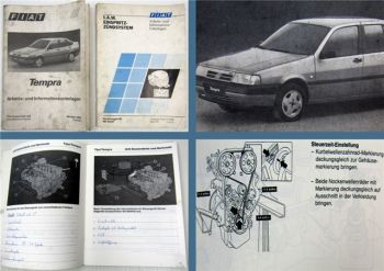 Fiat Tempra + Einspritz-Zündsystem Schulung Arbeits- und Informationsunterlage