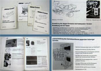 Fiat Croma Schulung Arbeits- und Informationsunterlage IAW 4HP18 Scheiben