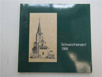 Schwarzrheindorf 1988 eine alte Kirche lebt Taufkapelle Christusikone