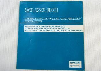 Suzuki Vitara SE416 SF413 SF310 SF416 Anleitung zur Prüfung vor Auslieferung 89