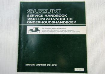 Suzuki Wartungshandbuch Service Handbook Vorauslieferungs-Inspektionshandbuch 79