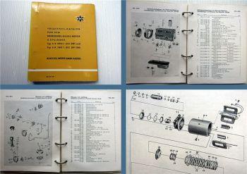 Henschel 6R 0912 I + 6R 1012 I (512 DIP) Dieselmotor Ersatzteilliste 1958