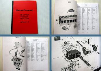 Ersatzteilliste Massey Ferguson / Eicher 3013 3014 Wotan II Traktor