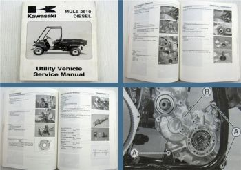 Kawasaki MULE 2510 Diesel Utility Vehicle Service Manual 1999