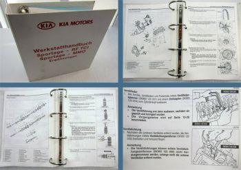 Kia Sportage RF TCI / Sportage Intercooler Turbo II Werkstatthandbuch Stand 1999