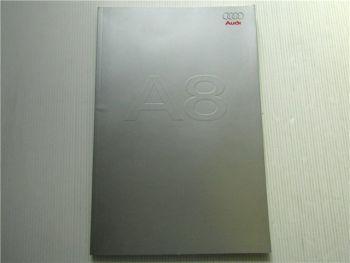 Audi A8 Typ D3 4E 3.7 Quattro Katalog Einführung 2002