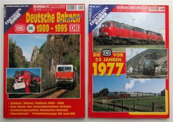 4 Zeitschriften Eisenbahnkurier 1993 1998 2005 2006 Zeitung Magazin