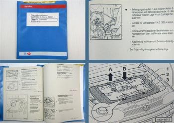 Werkstatthandbuch VW Golf 3 CitySTROMER Reparaturleitfaden Elektroauto