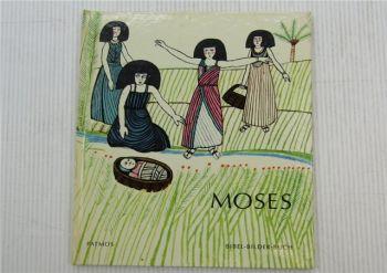Moses Bibel-Bilder-Buch Kinderbuch von Cocagnac Patmos Verlag 1960er Jahre