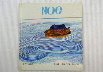 NOE Bibel-Bilder-Buch Kinderbuch von Cocagnac Patmos Verlag 1964