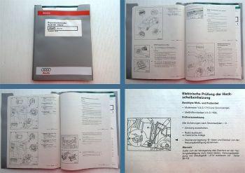 orig. Reparaturleitfaden Audi A6 ab 1998 Typ 4B C5 Heizung Werkstatthandbuch