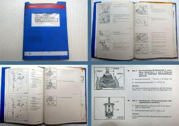 Werkstatthandbuch VW Golf IV 1J 5-Gang Schalt Getriebe 02J CZM DZC DCL EBJ - FBY