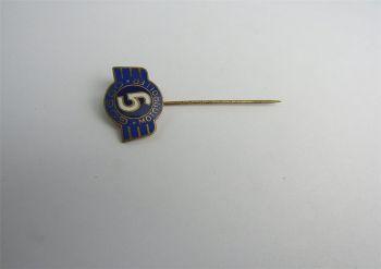 Goggo Motorroller original Anstecknadel / Pin um 1950