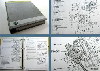 Reparaturleitfaden Skoda Fabia I Werkstatthandbuch 1,9 TDI SDI Motor ATD AXR ASY